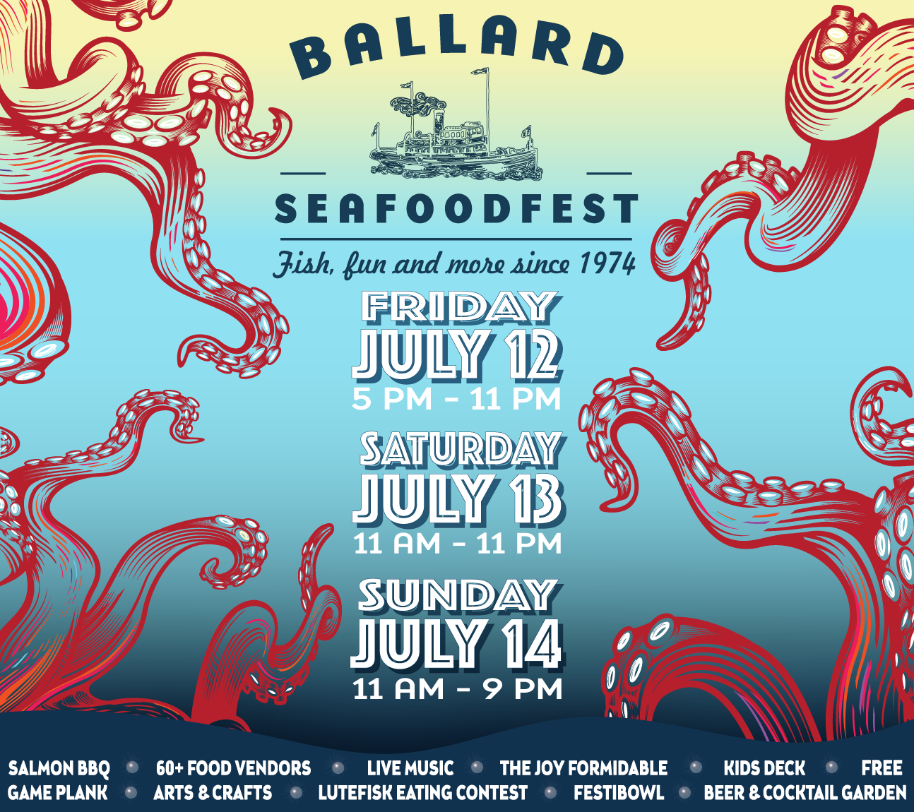 Image result for Ballard Seafood Fest 2019